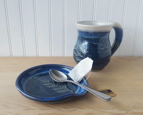 Tableware by Orna's Pottery seen at Private Residence, Seattle, Seattle - Spoon Rest