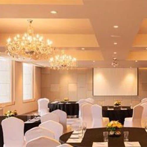 Lighting Design by Viroka Luce by Rajasekhar .P ( RAJ ) seen at Grand Mercure Bangalore, Bengaluru - banquet