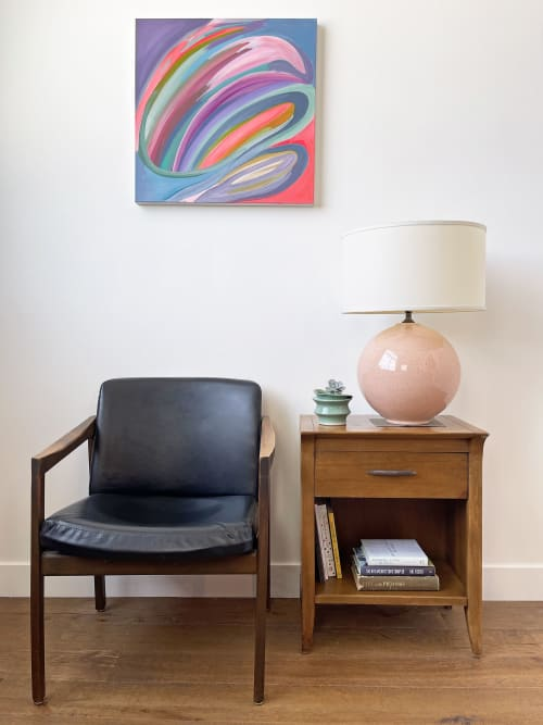 Paintings by Caroline Geys seen at Private Residence, Los Angeles - Reflection & Movement I