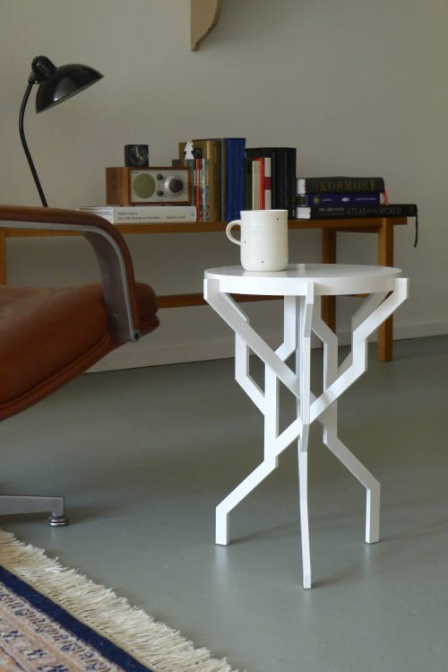 Tables by Kranen/Gille seen at Private Residence, 's-Hertogenbosch - PLANT table small