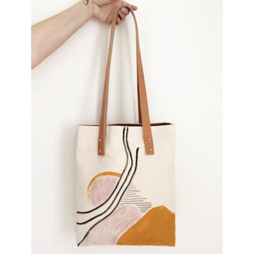 Apparel & Accessories by Quinnarie Studio - Hand-Painted Tote