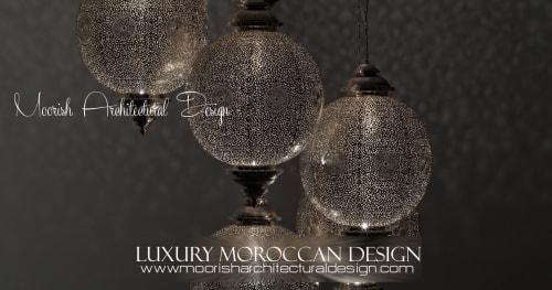 Lighting by Moorish Architectural Design seen at San Francisco, CA, San Francisco - Moroccan Lighting