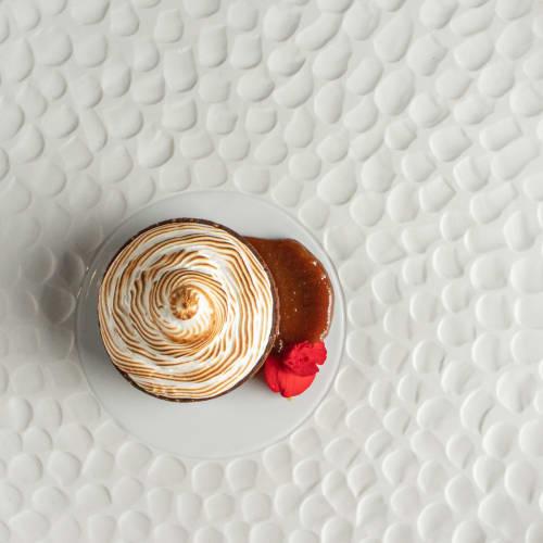 Ceramic Plates by Mieke Cuppen seen at Canto Cozinha e Conforto, Quilombo - Texture plate Escamas