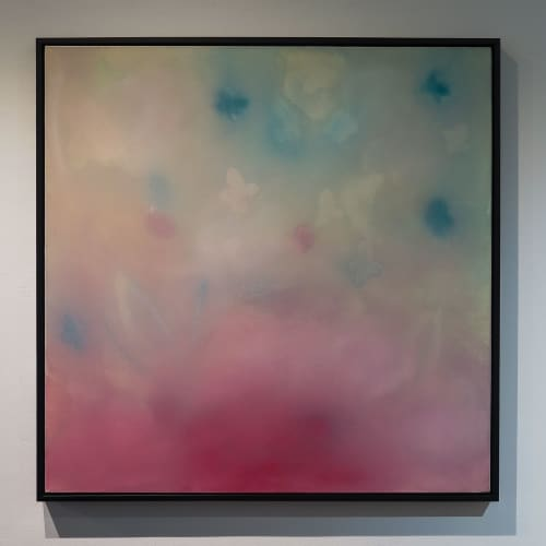 """Paintings by Gabriela Lucia seen at Georges Berges Gallery, New York - """"untitled"""""""