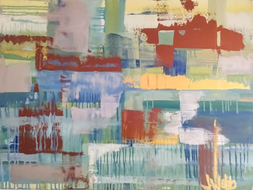 Paintings by Jillian Webb Herrmann | JWebb Fine Art seen at Private Residence - February 2010