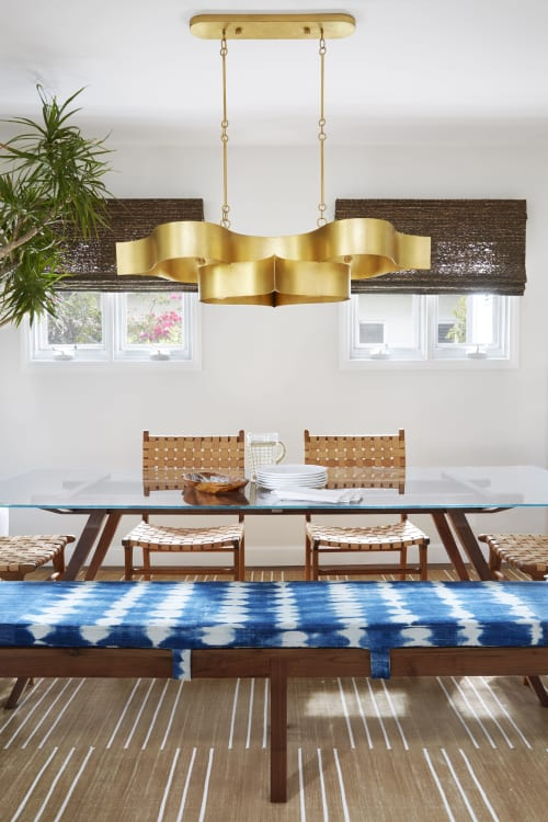 Chandeliers by Lumens seen at Private Residence, Santa Monica, Santa Monica - Chandeliers