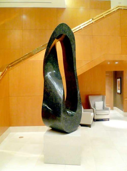 Public Sculptures by Jeremy Guy Sculpture seen at The Ritz-Carlton, Toronto, Toronto - Mobius