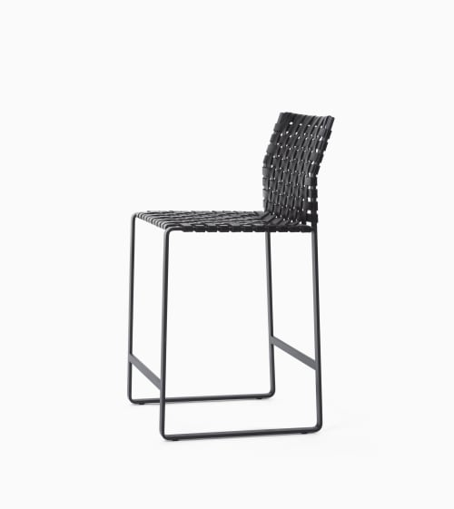 Chairs by Mark Albrecht Studio seen at Kachina Cantina, Denver - High Woven Back Bar Stool