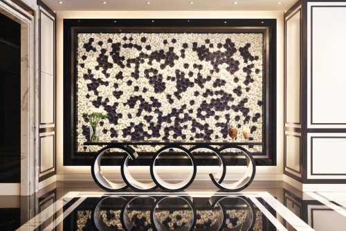 Sculptures by Alissa Coe Studio seen at Bellagio Shanghai, Hongkou Qu - Porcelain Flower Walls