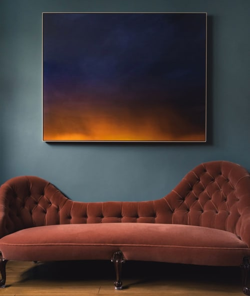 Art & Wall Decor by Casey Moore seen at Private Residence, London - Sunset Print