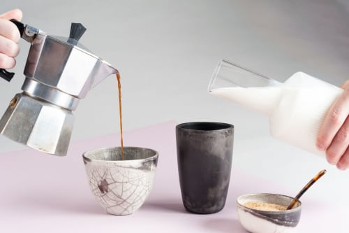 Tableware by studio.drei seen at Private Residence, Pforzheim - Want to Hold your Hand