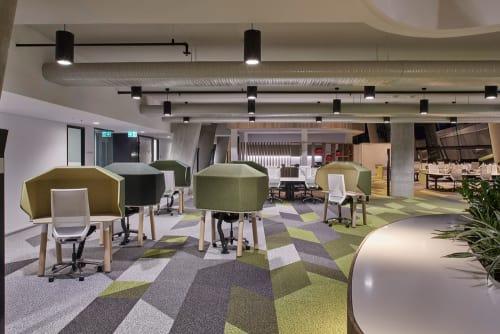 Furniture by Koskela seen at Fire & Rescue NSW Headquarters, Greenacre - Hoodie Desktops