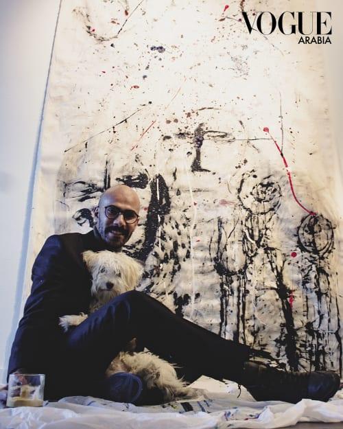 Abdulrahman Hamdi,. - Paintings and Art Curation