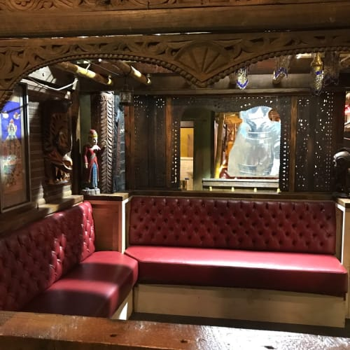 Couches & Sofas by Revive Designs and Upholstery seen at McMenamins Elks Temple, Tacoma - Tufted Seats