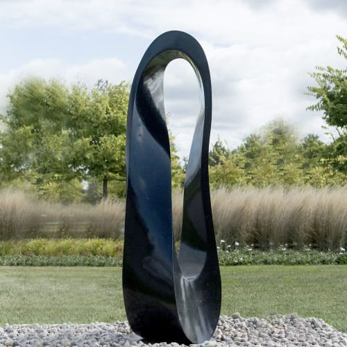 Public Sculptures by Jeremy Guy Sculpture seen at Oeno Gallery, Prince Edward - Mobius