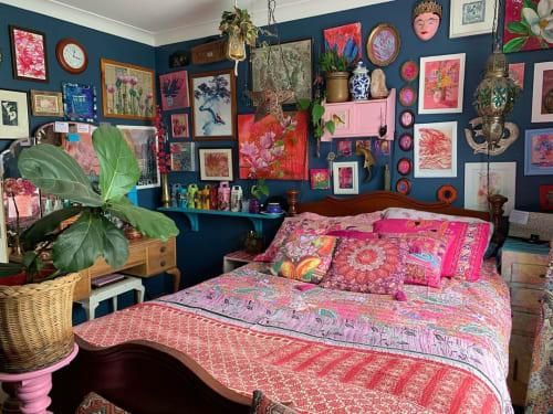 Pillows by ISHKA seen at Alexandra Felgate's Home, Adelaide - Boho Pillows