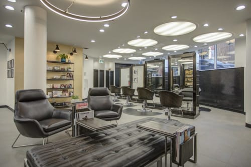 Interior Design by ANA Interiors Ltd seen at SWIZZLESTICKS SALONSPA, Calgary - Interior Design
