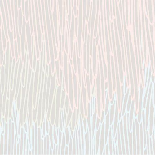 Wallpaper by Jill Malek Wallpaper - Stalactite | Powder