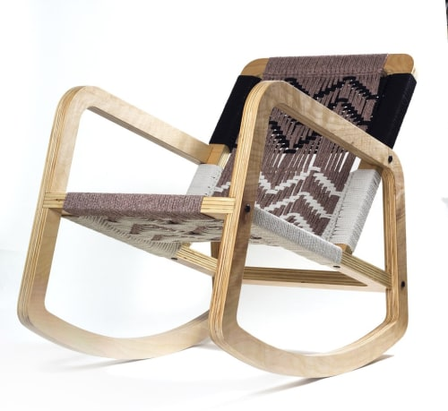Chairs by Pacific Wonderland Inc seen at Private Residence, Los Angeles - Palapa Lounge Rocker