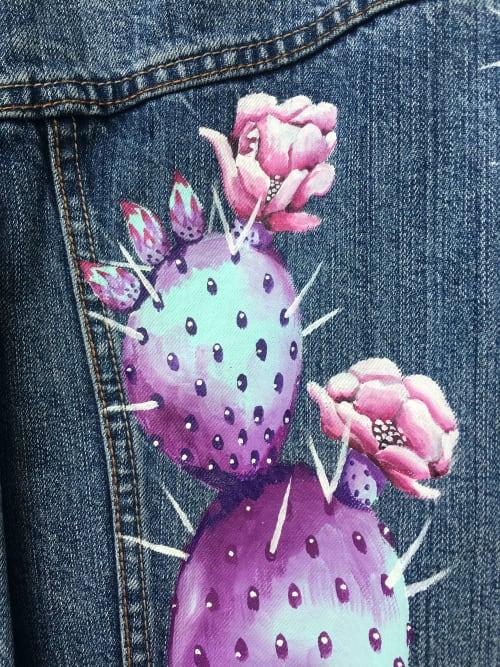 Apparel & Accessories by Sapira Design seen at Austin, Austin - Prickly Pear Denim Jacket