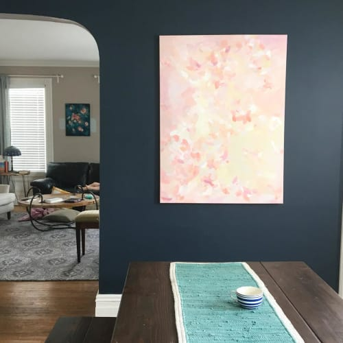 Paintings by Art by Megan seen at Private Residence, New York - Petals