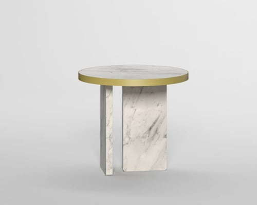 Tables by Davani seen at Creator's Studio, Seattle - Davani Purity Side Table