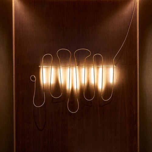 Lamps by Elish Warlop Design Studio seen at Hilton Brooklyn New York, Brooklyn - Line Lamp