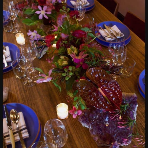 Floral Arrangements by Colibri seen at Beast, Portland - Floral Arrangement