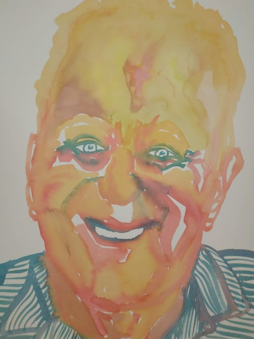 Paintings by OR SHARON PAINTER seen at Private Residence, Tel Aviv-Yafo - VARIATED HUMAN PORTRAITS