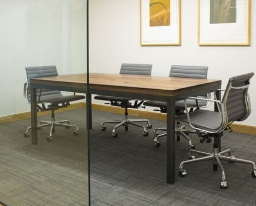 Tables by The Joinery seen at Geffen Mesher, Portland - Conference Table