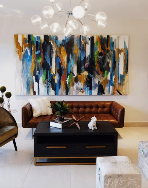 Paintings by Helga Sierra seen at Tegucigalpa, Tegucigalpa - Modern apartment/ Bachelor Pad