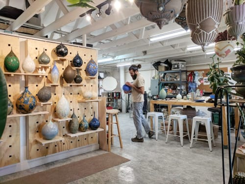 Round Trip Clayworks - Vases & Vessels and Lamps