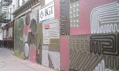 Street Murals by Norman Kirby seen at BGT Enterprises LLC, Jersey City - BGT Enterprise Street Mural