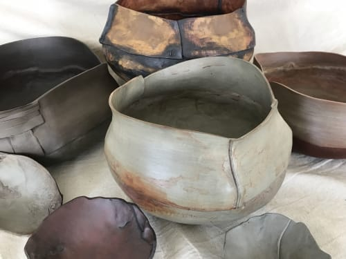 Art & Wall Decor by Helene Fleury seen at Private Residence - Large ceramic bowl