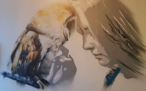 Murals by Artdrenaline at The Hague Teleport Hotel, Den Haag - Artdrenaline