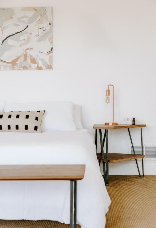 Pillows by Selva Studio seen at Private Residence, Denver - Punto Negro