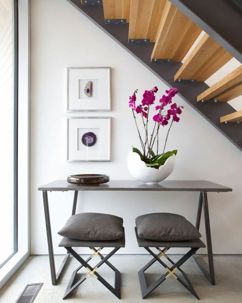 Tables by Mtharu seen at Private Residence, Calgary - Console Table