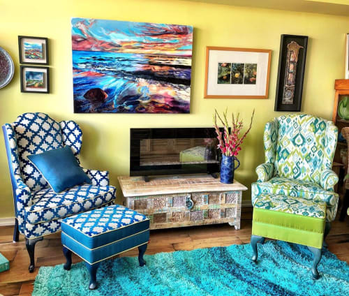 Paintings by Celina Melo seen at Private Residence, Toronto - Second Summer