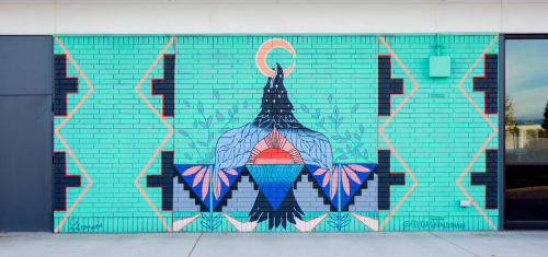 Street Murals by Felicia Gabaldon seen at San Jose, San Jose - Mural