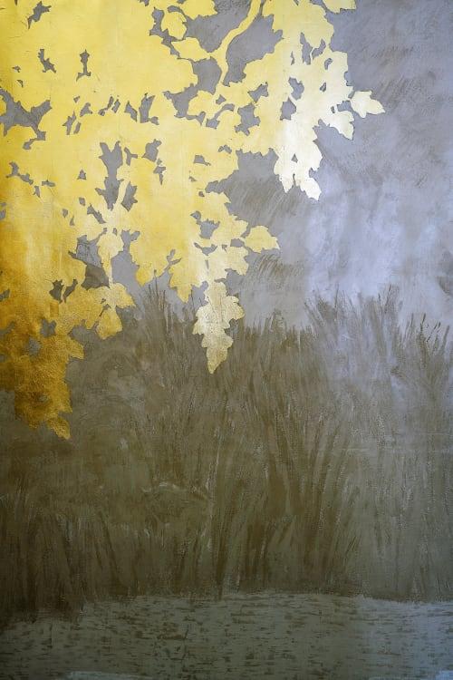 Murals by Callidus Guild seen at Melbourne Area, Melbourne - Encaustic Landscape