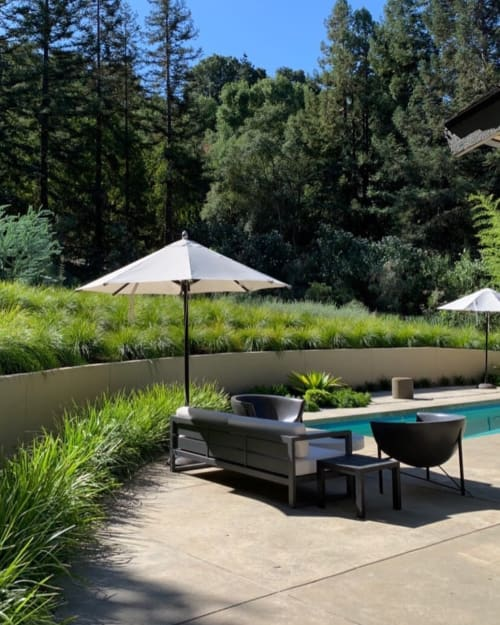 Chairs by Galanter & Jones seen at Private Residence, Orinda - Kosmos