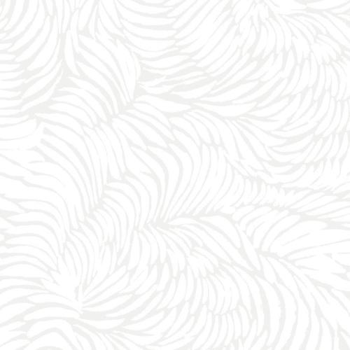 Wallpaper by Jill Malek Wallpaper - Plume | Ice