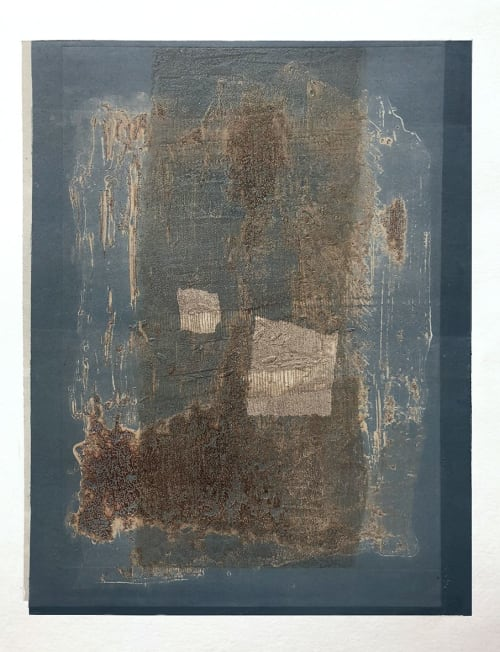 Paintings by Agathe BOUTON seen at Private Residence, London - Fragment - 1998