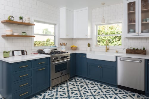 Interior Design by Kelly Martin Interiors seen at Private Residence, Los Angeles - Highland Park Kitchen Remodel