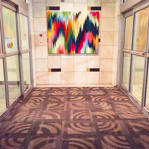 Paintings by Rita Ortloff Studio seen at Penn Square Mall, Oklahoma City - Painting Series