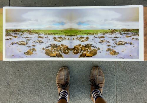Photography by Brett Walker seen at Get High On Mountains Artist & Creative Space, San Francisco - Mono Lake DipTych