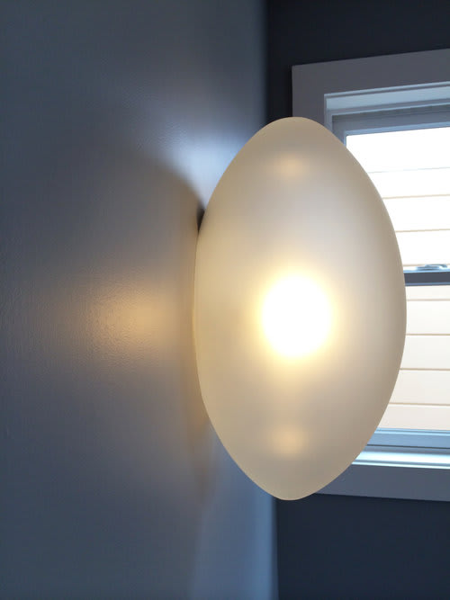 Sconces by Jess Wainer at Private Residence, San Francisco - Eggs