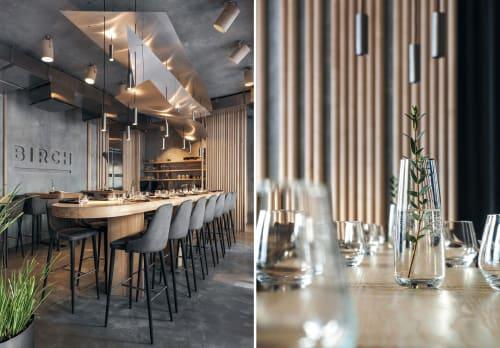Interior Design by DA bureau seen at Birch, Sankt-Peterburg - Birch