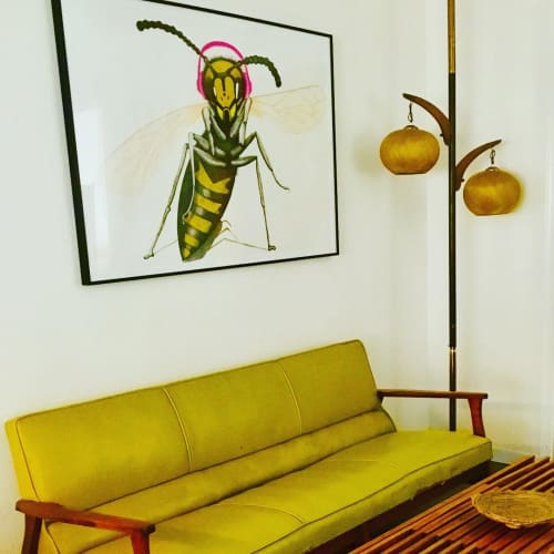 Paintings by Ruth Santee seen at Private Residence, Oakland - Gone Hollywood