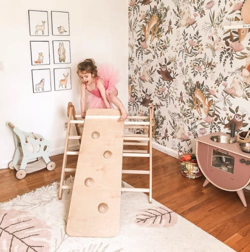 Furniture by Homi Baby seen at Daughters and Things, Windsor Locks - Pikler Climbing Triangle